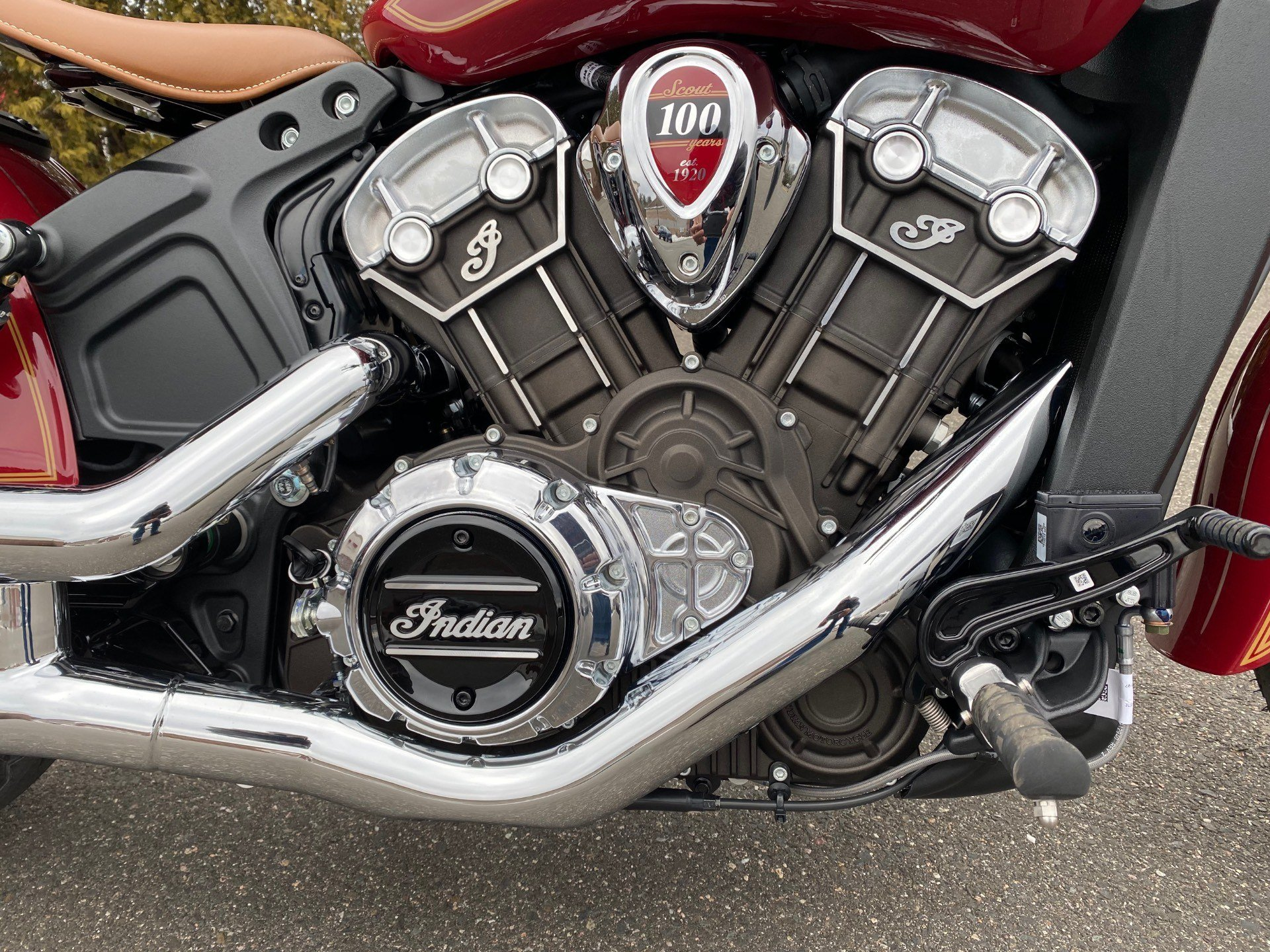 2020 Indian Scout® 100th Anniversary in Westfield, Massachusetts - Photo 4