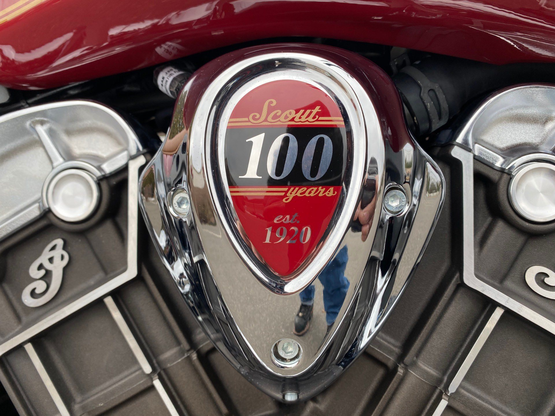 2020 Indian Scout® 100th Anniversary in Westfield, Massachusetts - Photo 5
