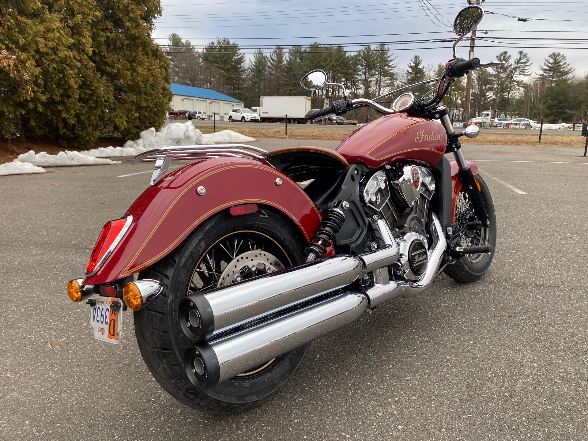 2020 Indian Scout® 100th Anniversary in Westfield, Massachusetts - Photo 9
