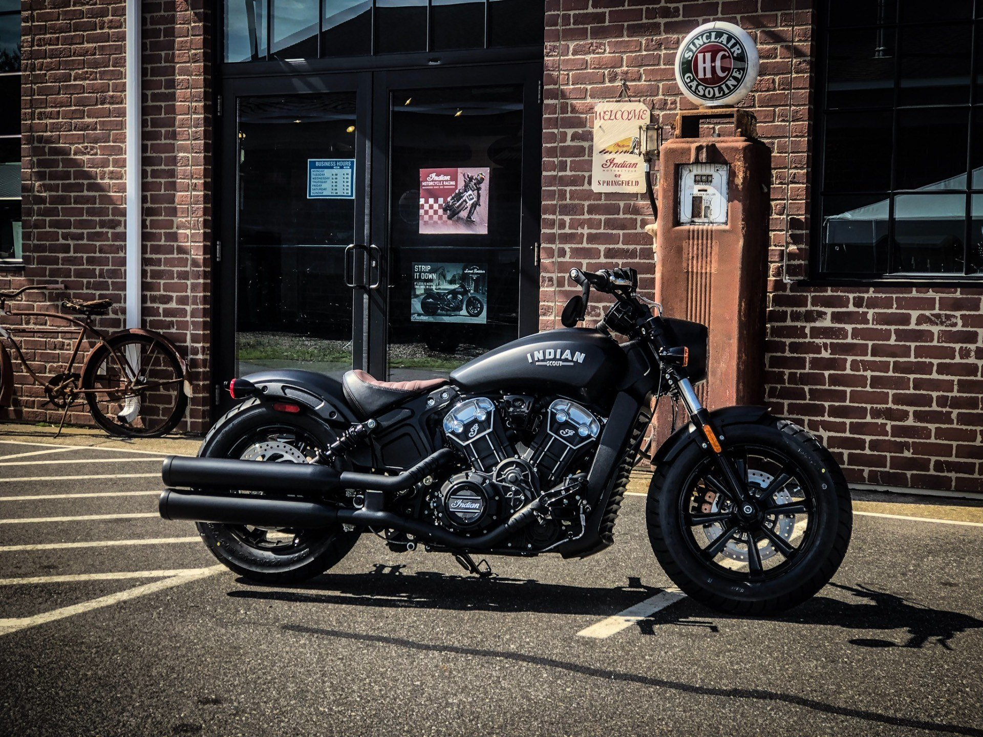 2020 Indian Scout® Bobber ABS in Westfield, Massachusetts - Photo 1