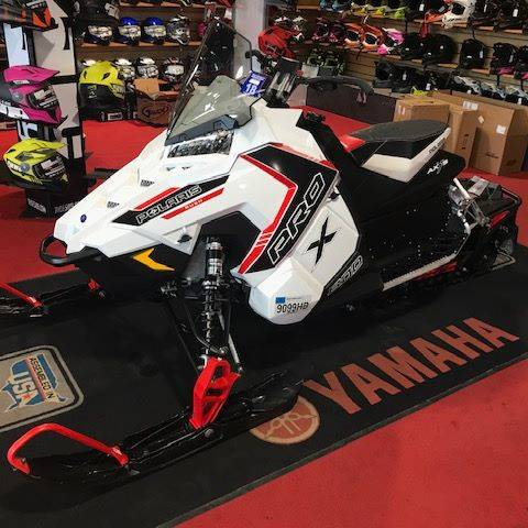 2016 Polaris 800 RUSH PRO-X SnowCheck Select in Utica, New York