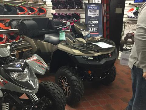 2020 Suzuki KingQuad 750AXi Power Steering SE+ in Olean, New York - Photo 1