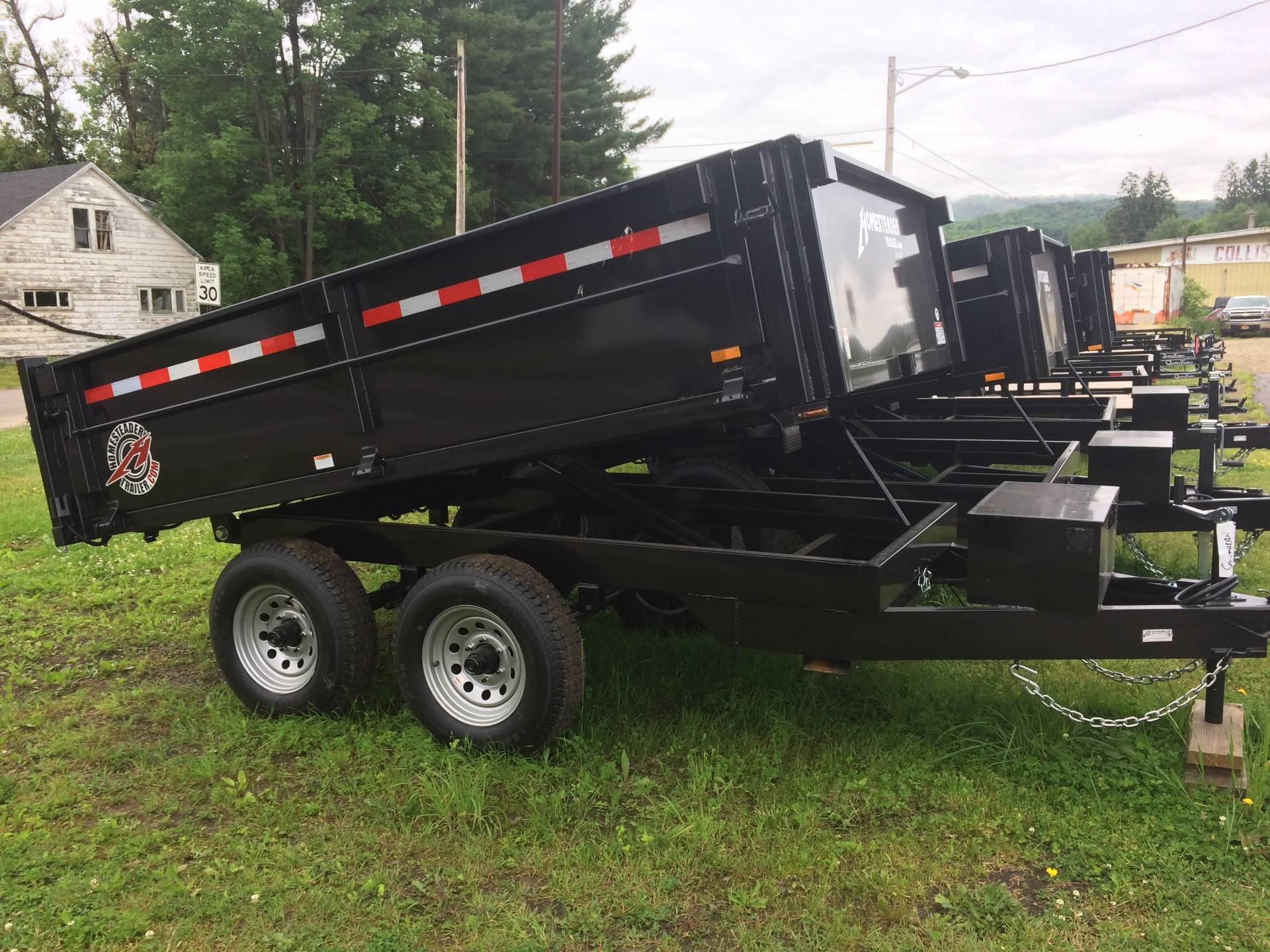 2018  6x10 dump trailer 1