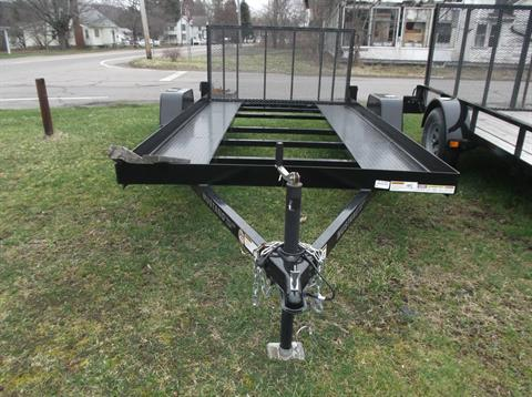 2016 Mustang Trailers 6 x 12 Open Center in Olean, New York