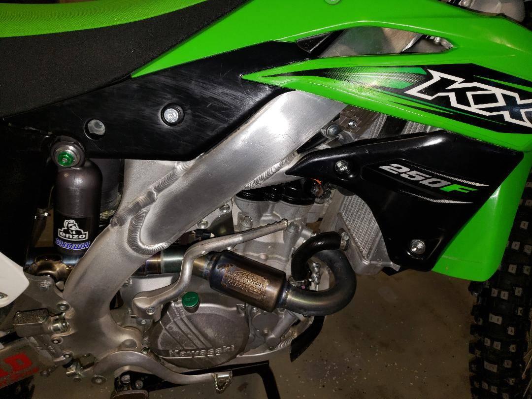 2016 Kawasaki KX 250f 4