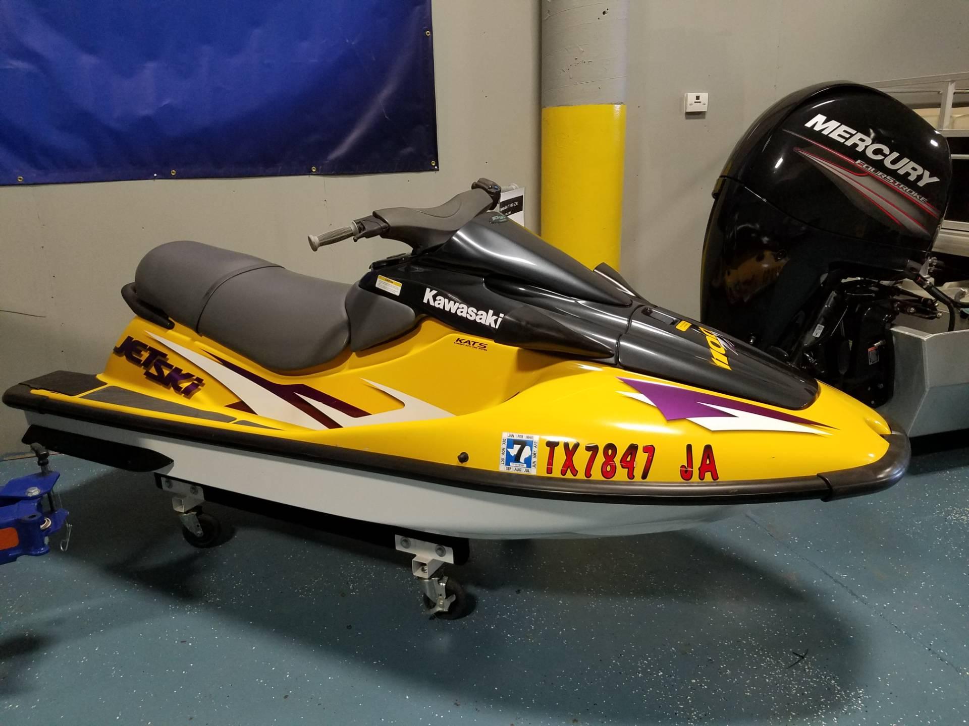 1998 Kawasaki 1100 Zxi 11 Foot Black Yellow 1998