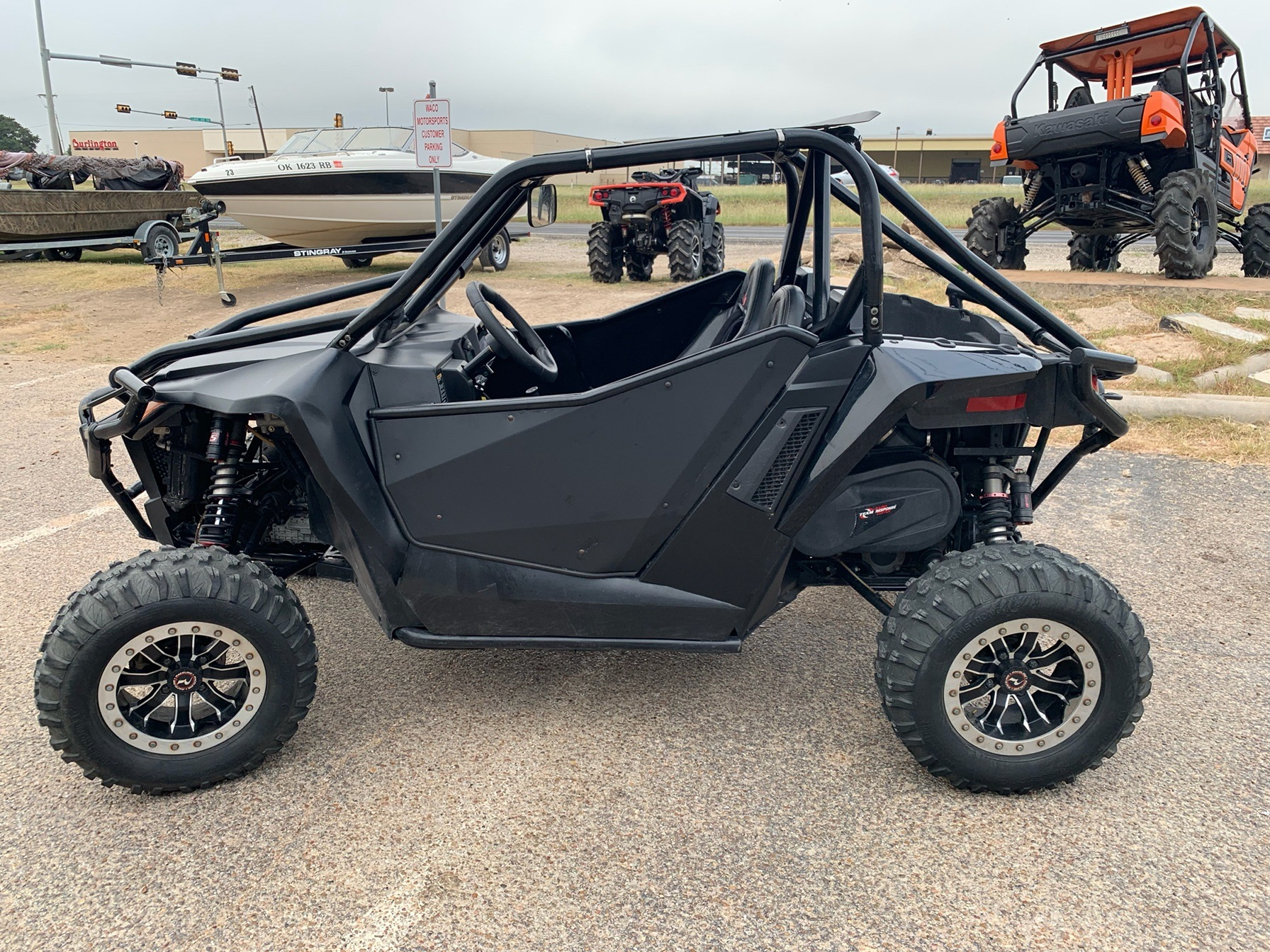 2015 Arctic Cat Wildcat Sport Limited in Waco, Texas - Photo 9