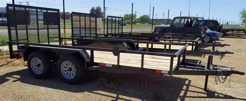 2021 SALVATION 16 FT TRAILER WITH RAMP GATE in Waco, Texas