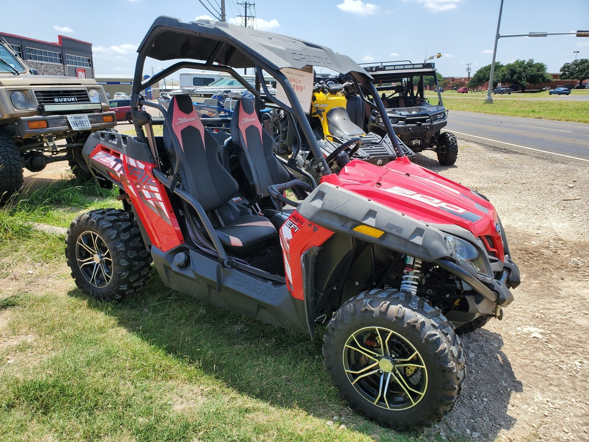 2017 CFMOTO ZForce 500 HO Trail EPS in Waco, Texas - Photo 2