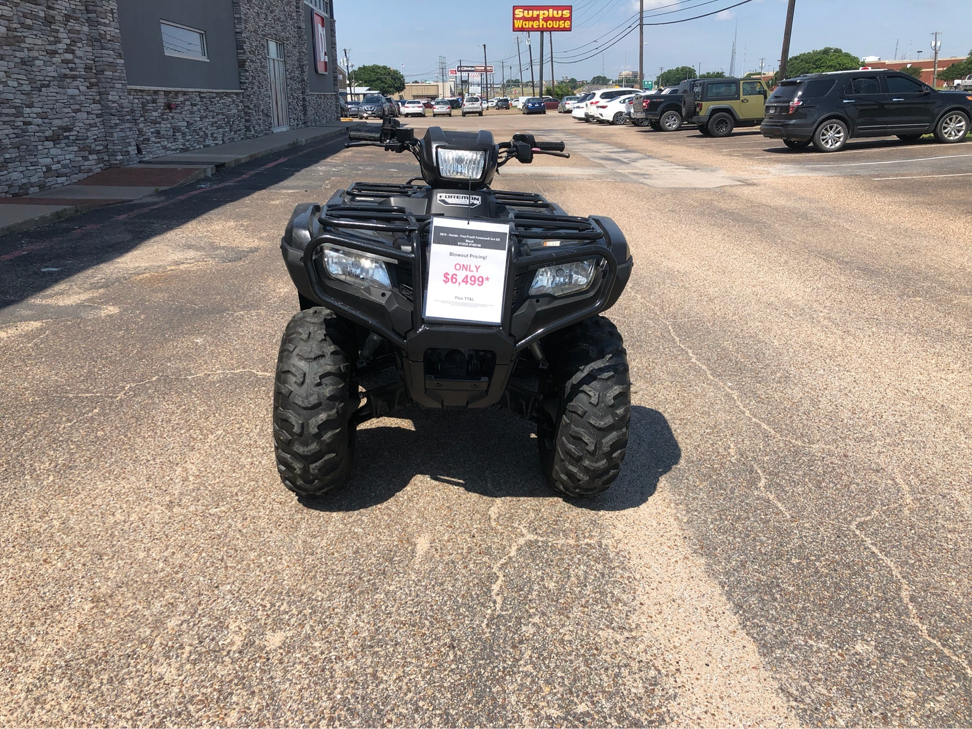 2015 Honda FourTrax® Foreman® 4x4 ES in Waco, Texas - Photo 2