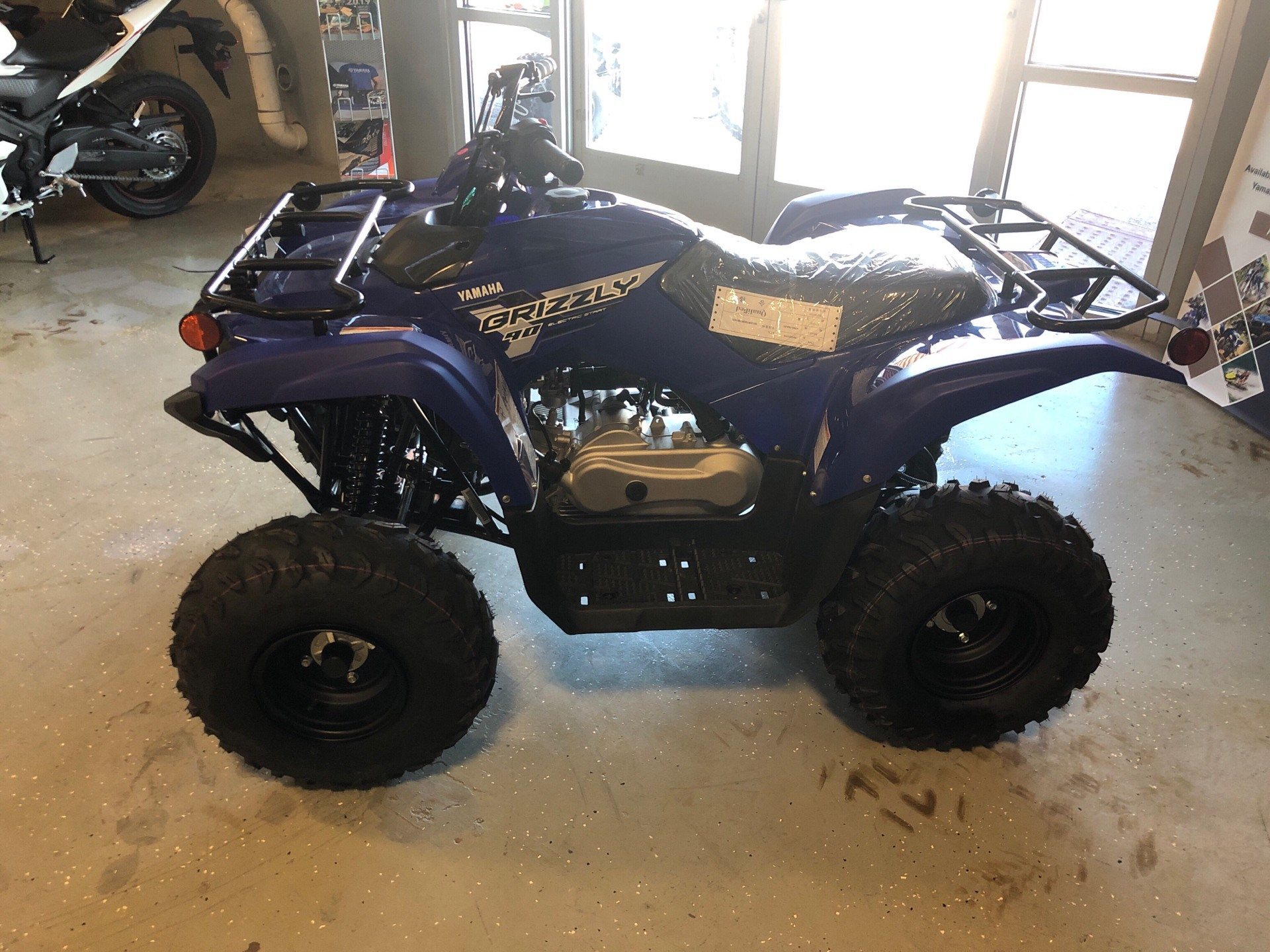 2019 YAMAHA GRIZZLY 90 in Waco, Texas - Photo 1