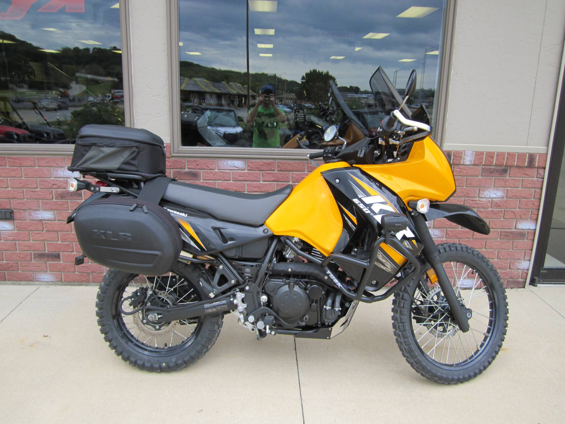2013 Kawasaki KLR™650 in Decorah, Iowa