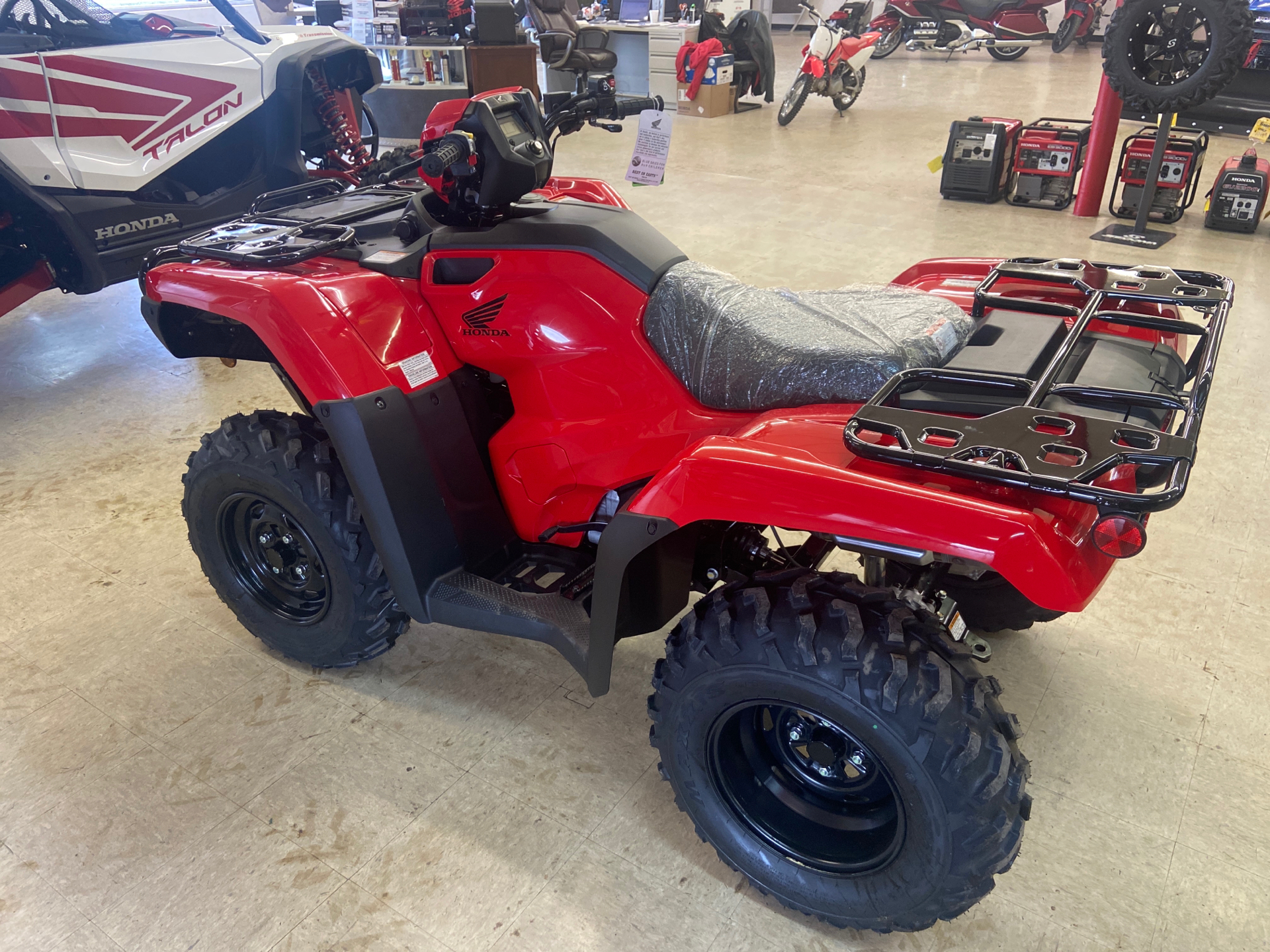 2021 Honda FourTrax Foreman 4x4 in Greeneville, Tennessee - Photo 4