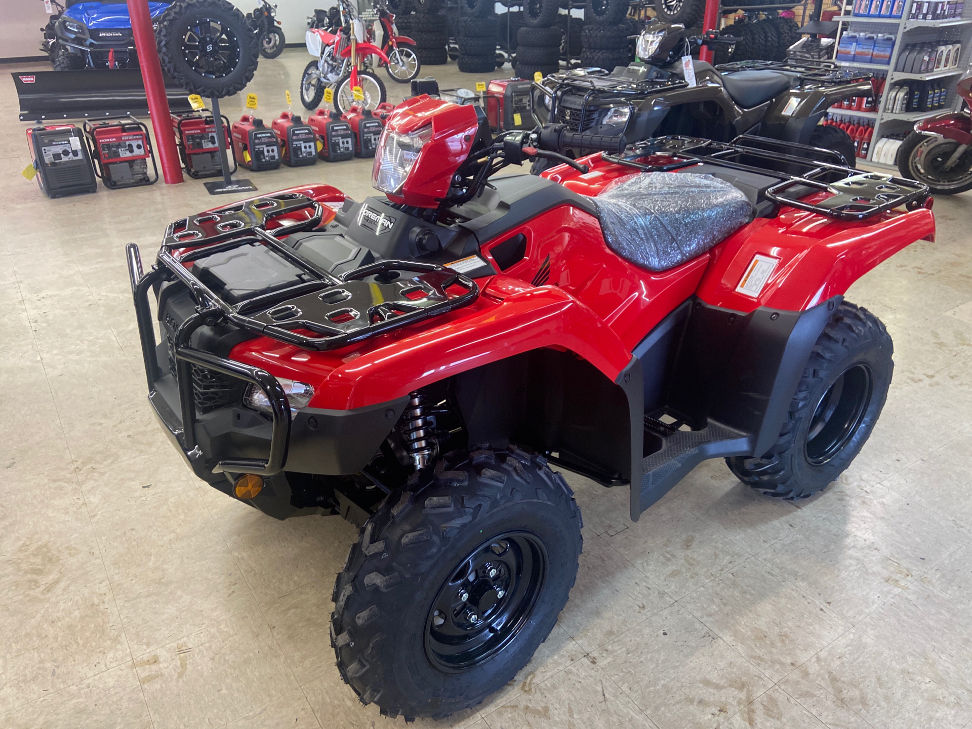 2021 Honda FourTrax Foreman 4x4 in Greeneville, Tennessee - Photo 5