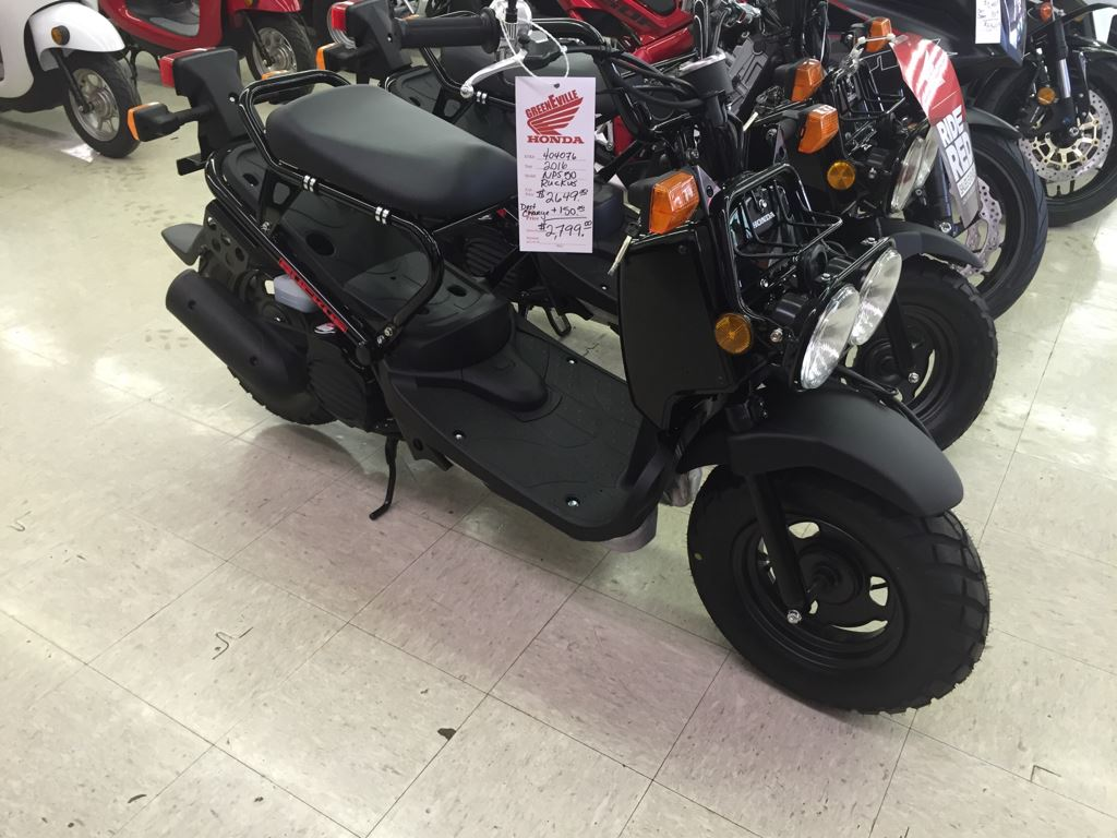 2016 Honda Ruckus Black in Greeneville, Tennessee - Photo 1