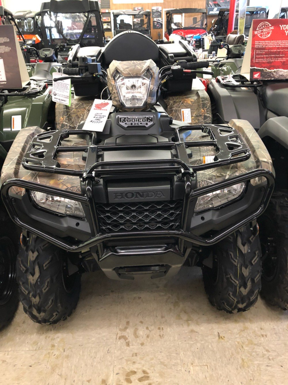 2019 Honda FourTrax Foreman Rubicon 4x4 EPS in Greeneville, Tennessee