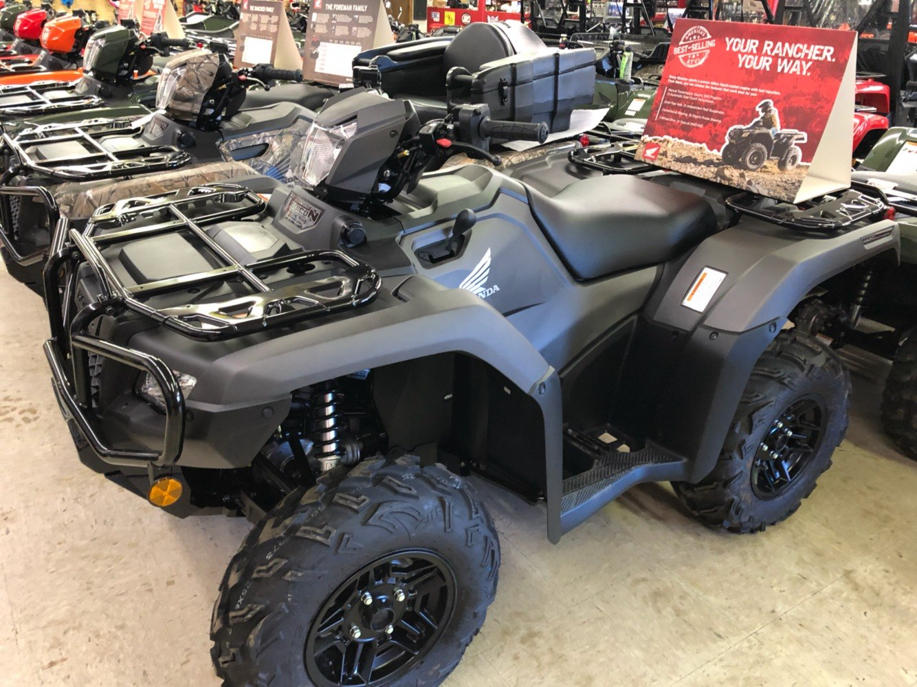 2019 Honda FourTrax Foreman Rubicon 4x4 Automatic DCT EPS Deluxe in Greeneville, Tennessee - Photo 1
