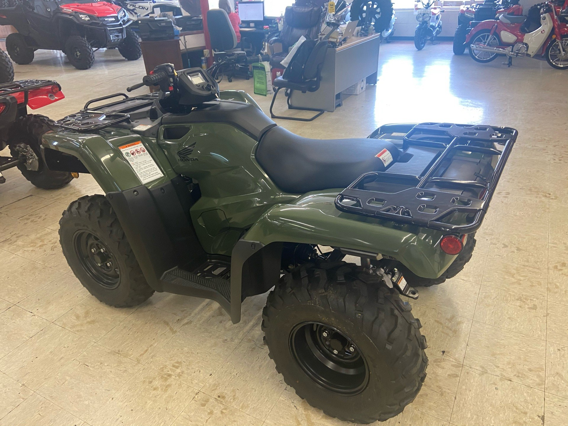 2020 Honda FourTrax Rancher ES in Greeneville, Tennessee - Photo 5