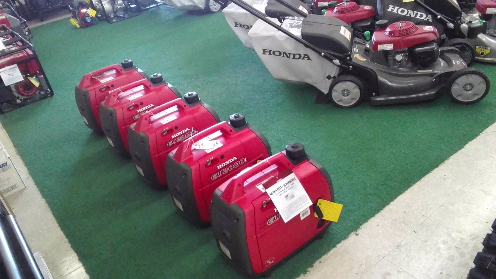 2016 Honda Power Equipment EU2000i in Greeneville, Tennessee