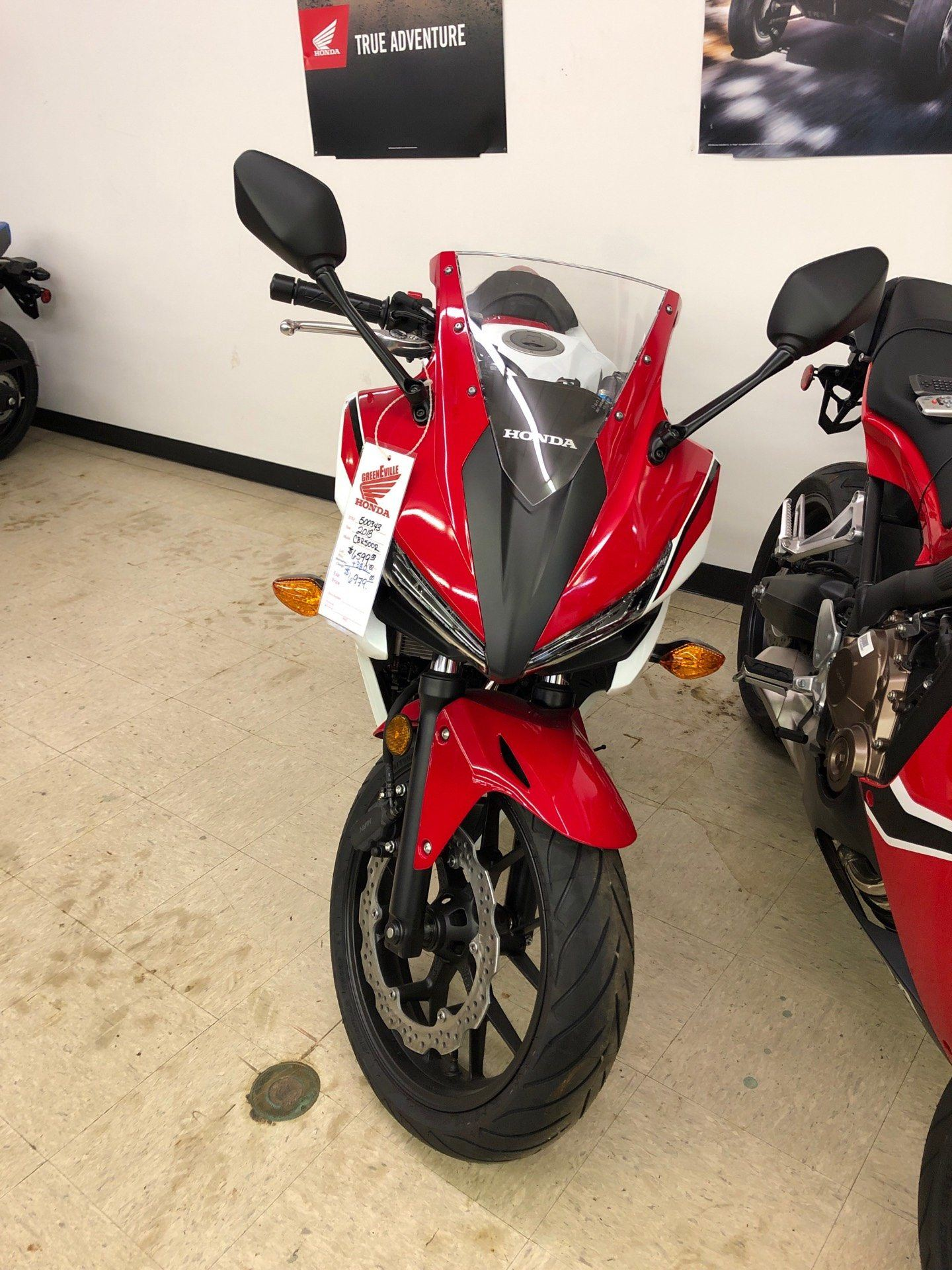 2018 Honda CBR500R in Greeneville, Tennessee - Photo 2