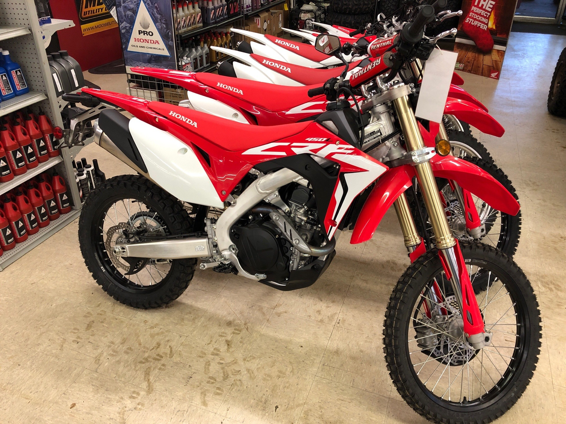 2019 Honda CRF450L in Greeneville, Tennessee - Photo 1