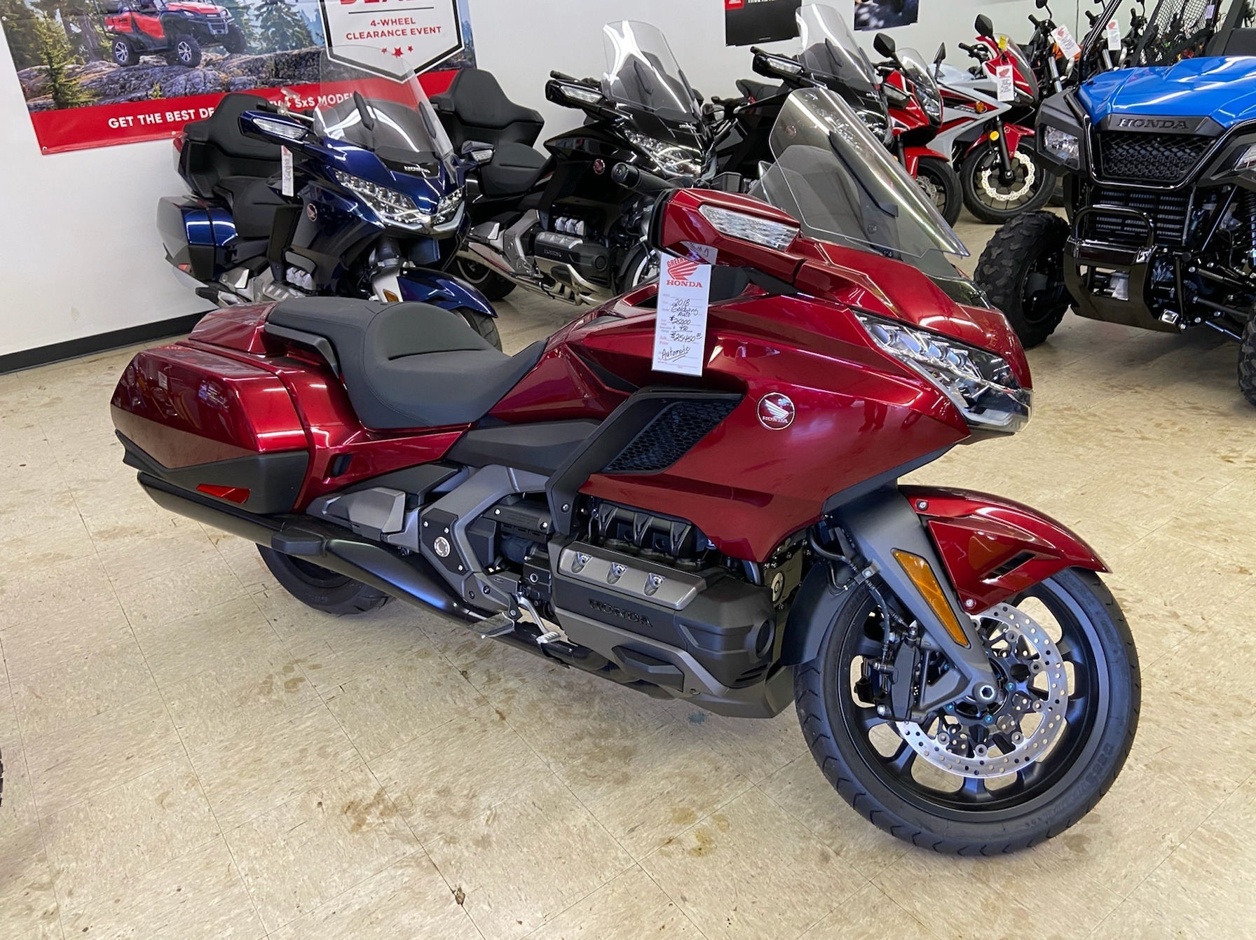 2018 Honda Gold Wing DCT in Greeneville, Tennessee - Photo 1