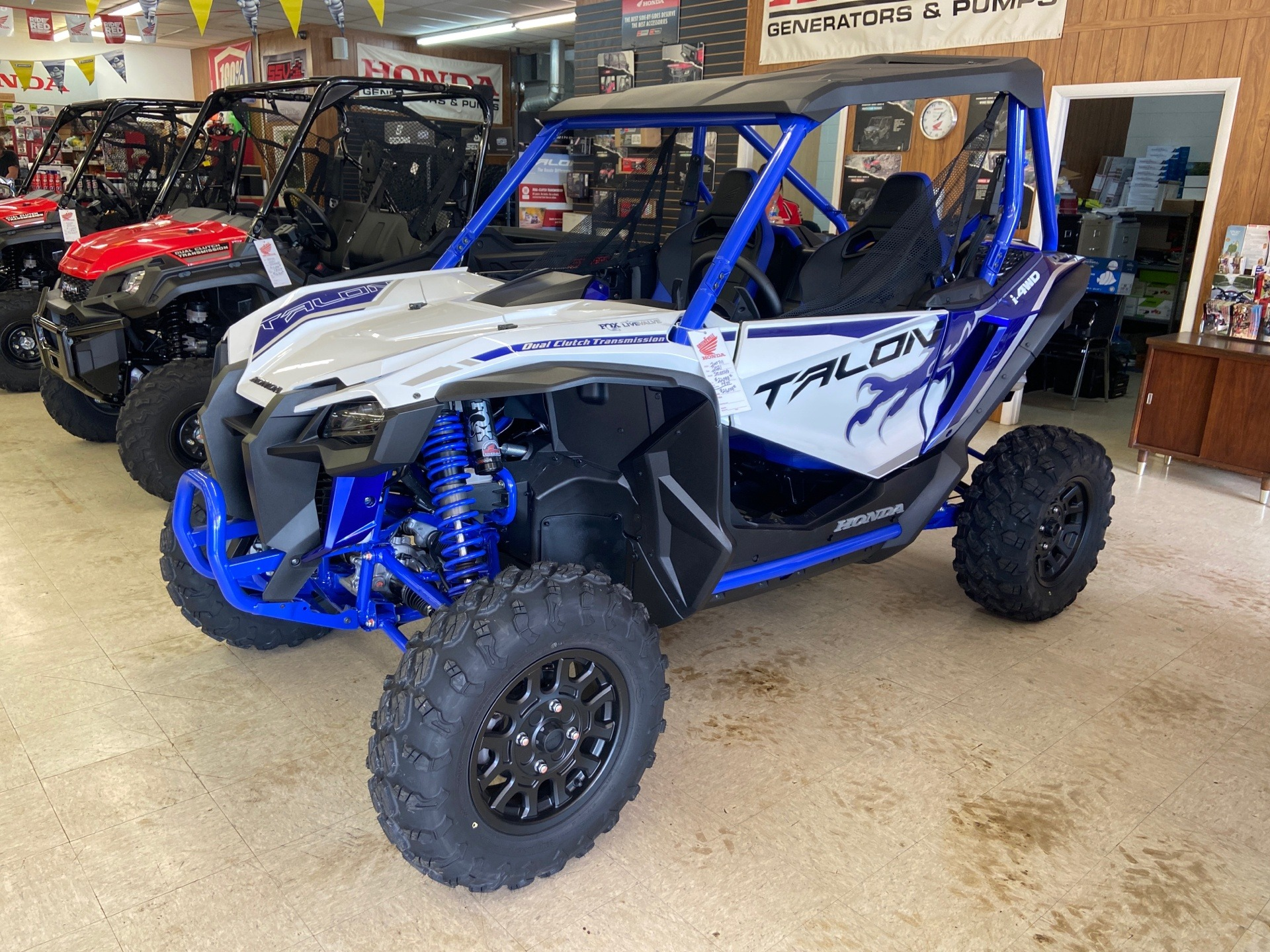 2021 Honda Talon 1000X FOX Live Valve in Greeneville, Tennessee - Photo 1