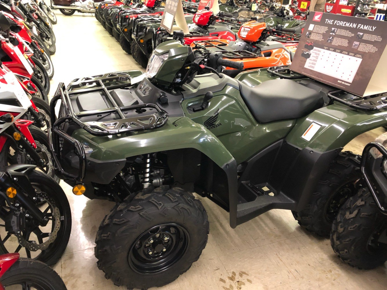 2019 Honda FourTrax Foreman Rubicon 4x4 Automatic DCT EPS in Greeneville, Tennessee - Photo 1