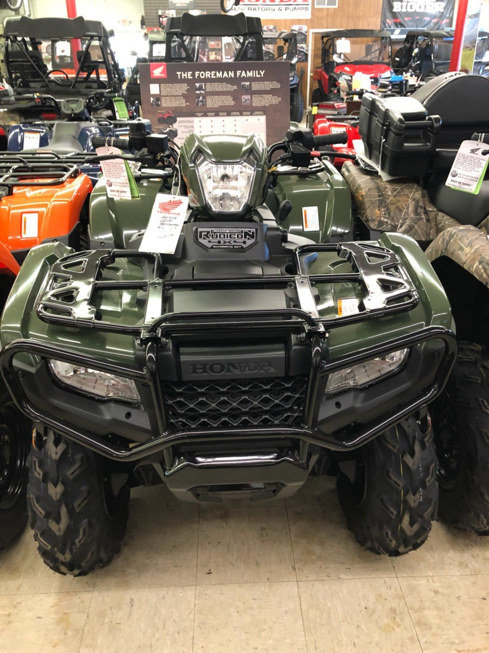 2019 Honda FourTrax Foreman Rubicon 4x4 Automatic DCT EPS in Greeneville, Tennessee - Photo 3