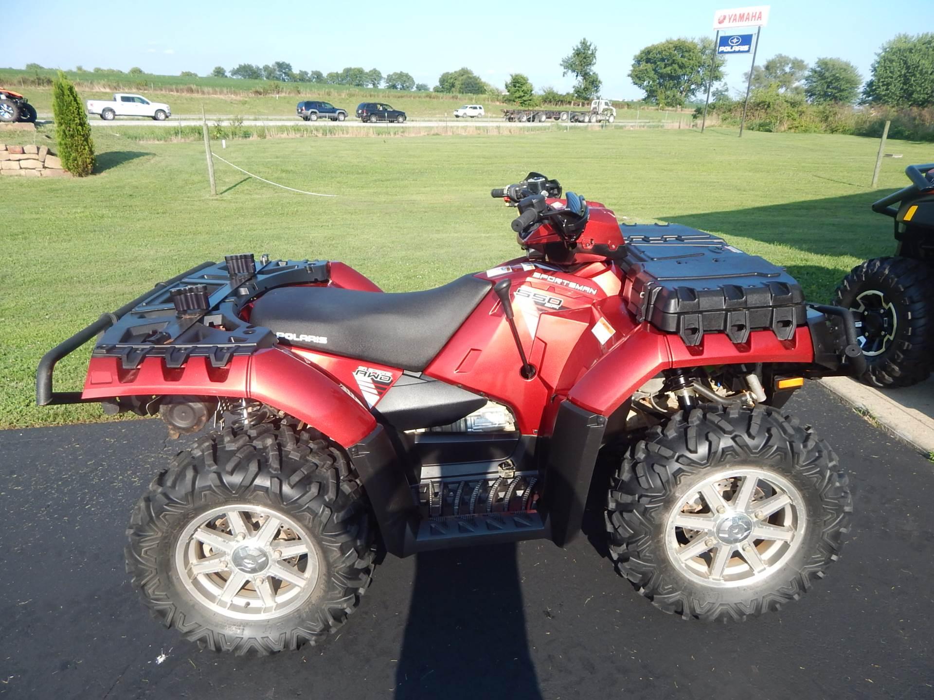 2014 Polaris Sportsman® 550 EPS ATVs Carroll Ohio N/A