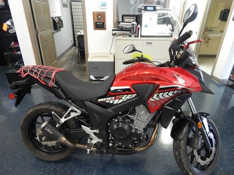 2017 Honda CB500X in Carroll, Ohio - Photo 1