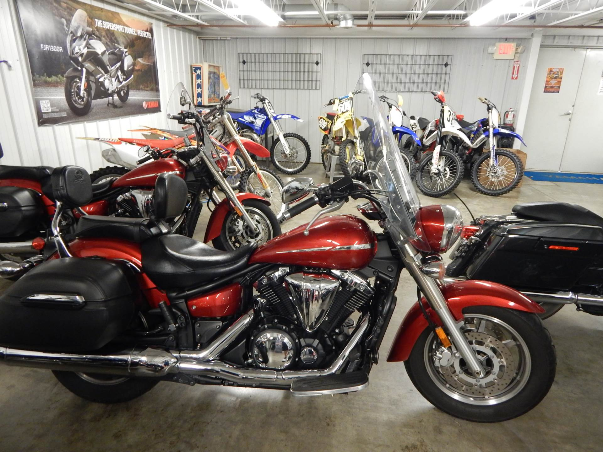2009 Yamaha V Star 1300 Tourer Motorcycles Carroll Ohio N A