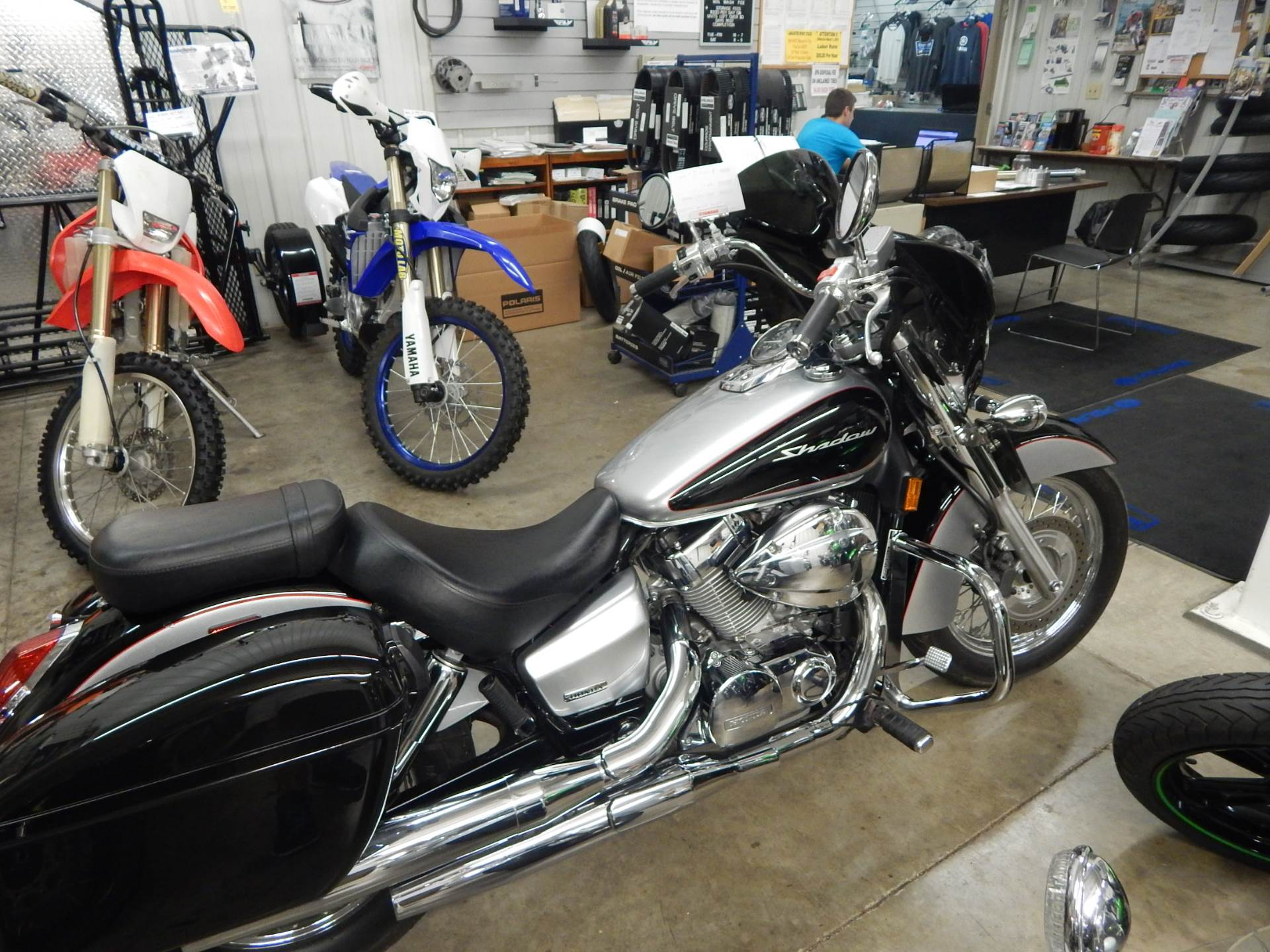 2008 Honda Shadow Aero® in Carroll, Ohio - Photo 1