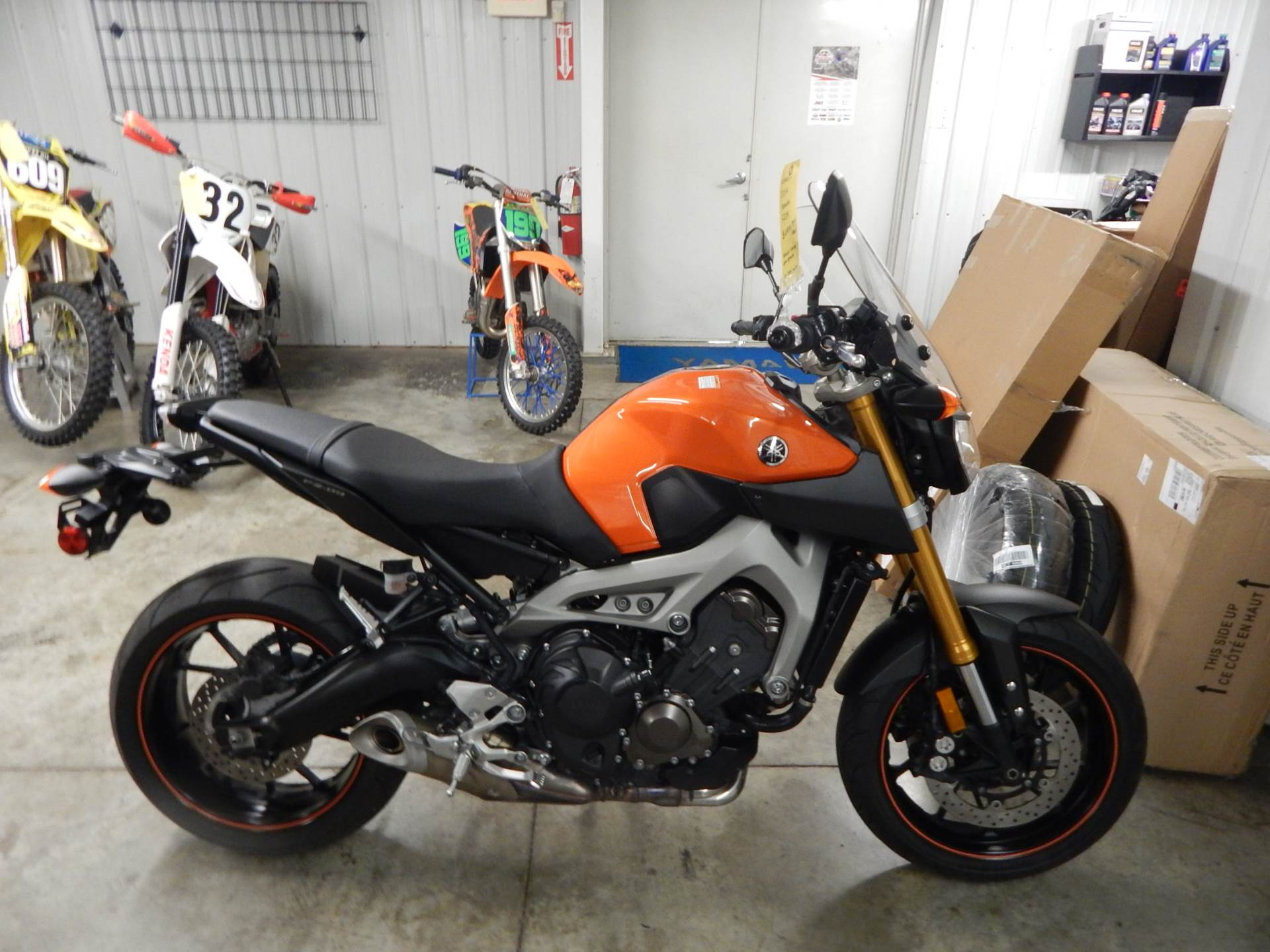 2014 Yamaha FZ-09 in Carroll, Ohio - Photo 1