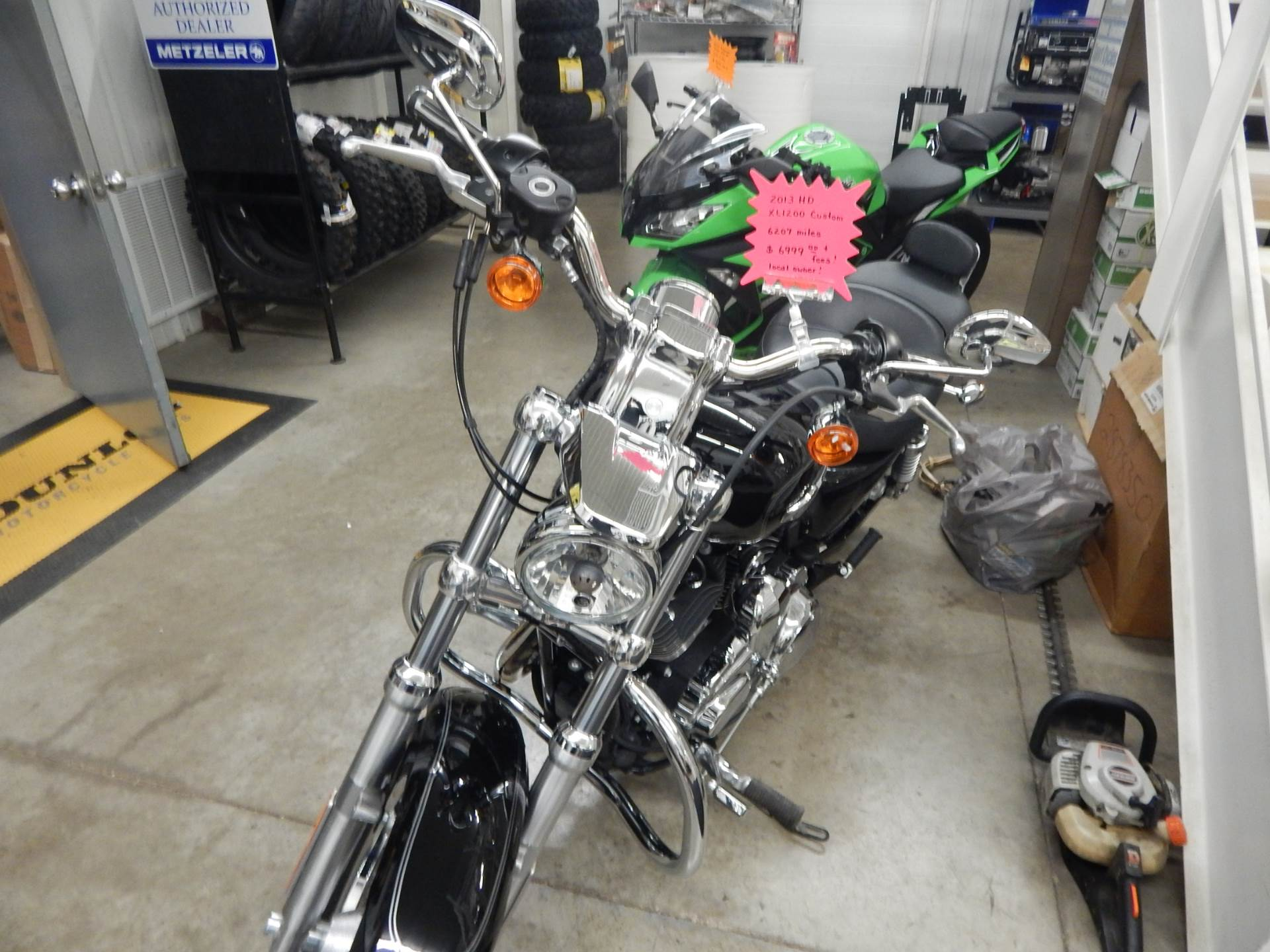 2013 Harley-Davidson Sportster® 1200 Custom in Carroll, Ohio - Photo 5