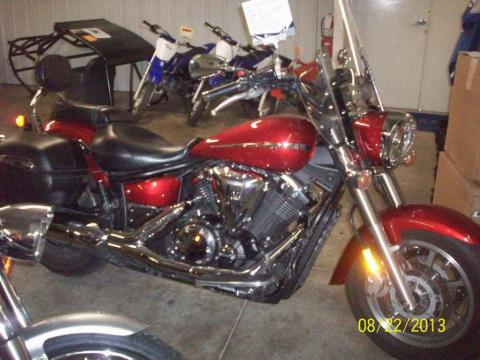 2009 Yamaha V Star 1300 Tourer in Carroll, Ohio