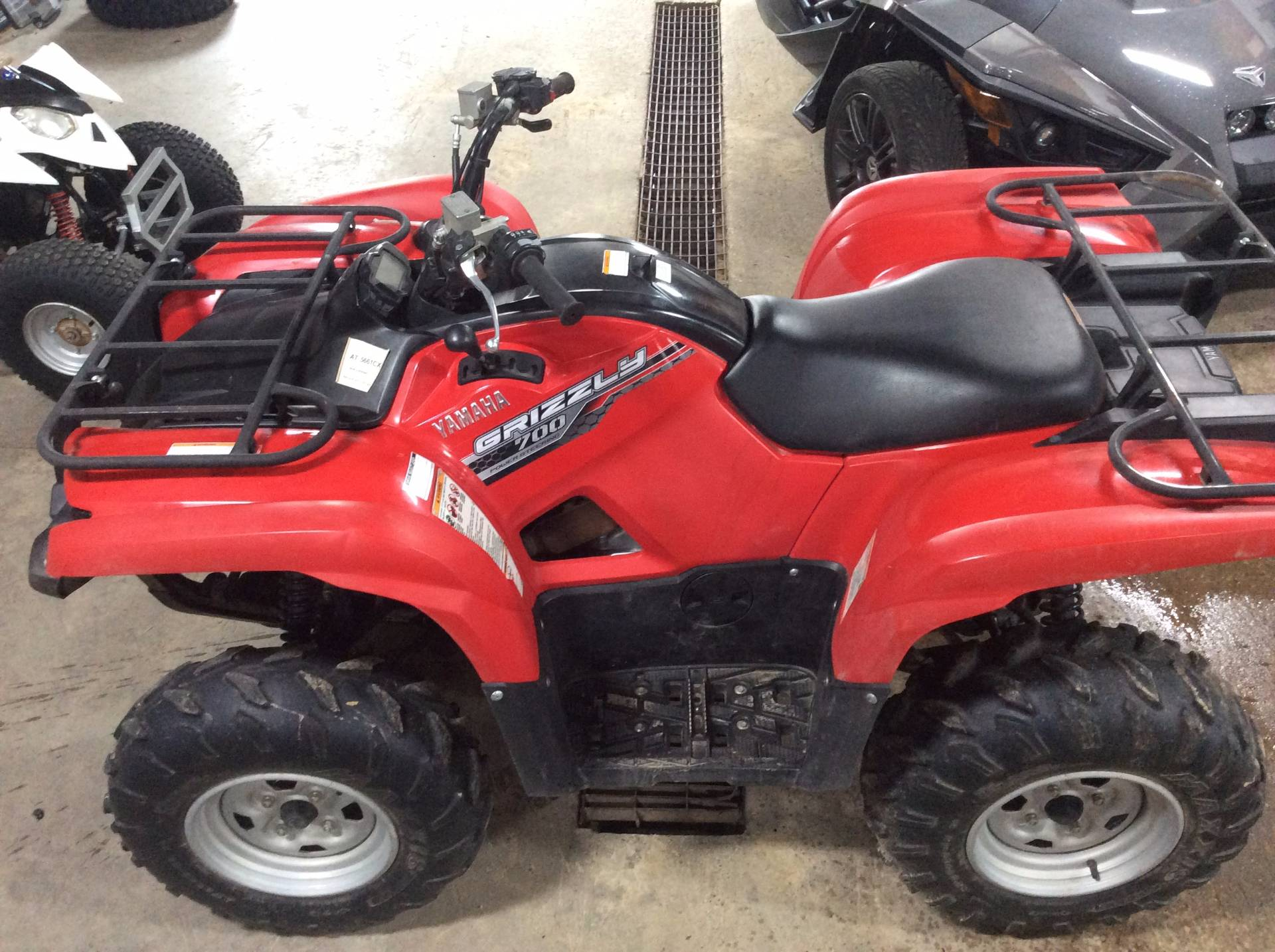 Used 2014 yamaha grizzly 700 fi auto 4x4 eps atvs in for Yamaha dealers wisconsin