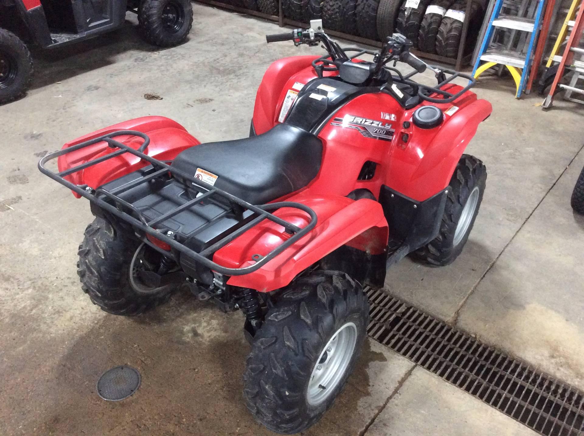 2014 yamaha grizzly 700 fi auto 4x4 eps for sale kieler for Yamaha grizzly 700 for sale
