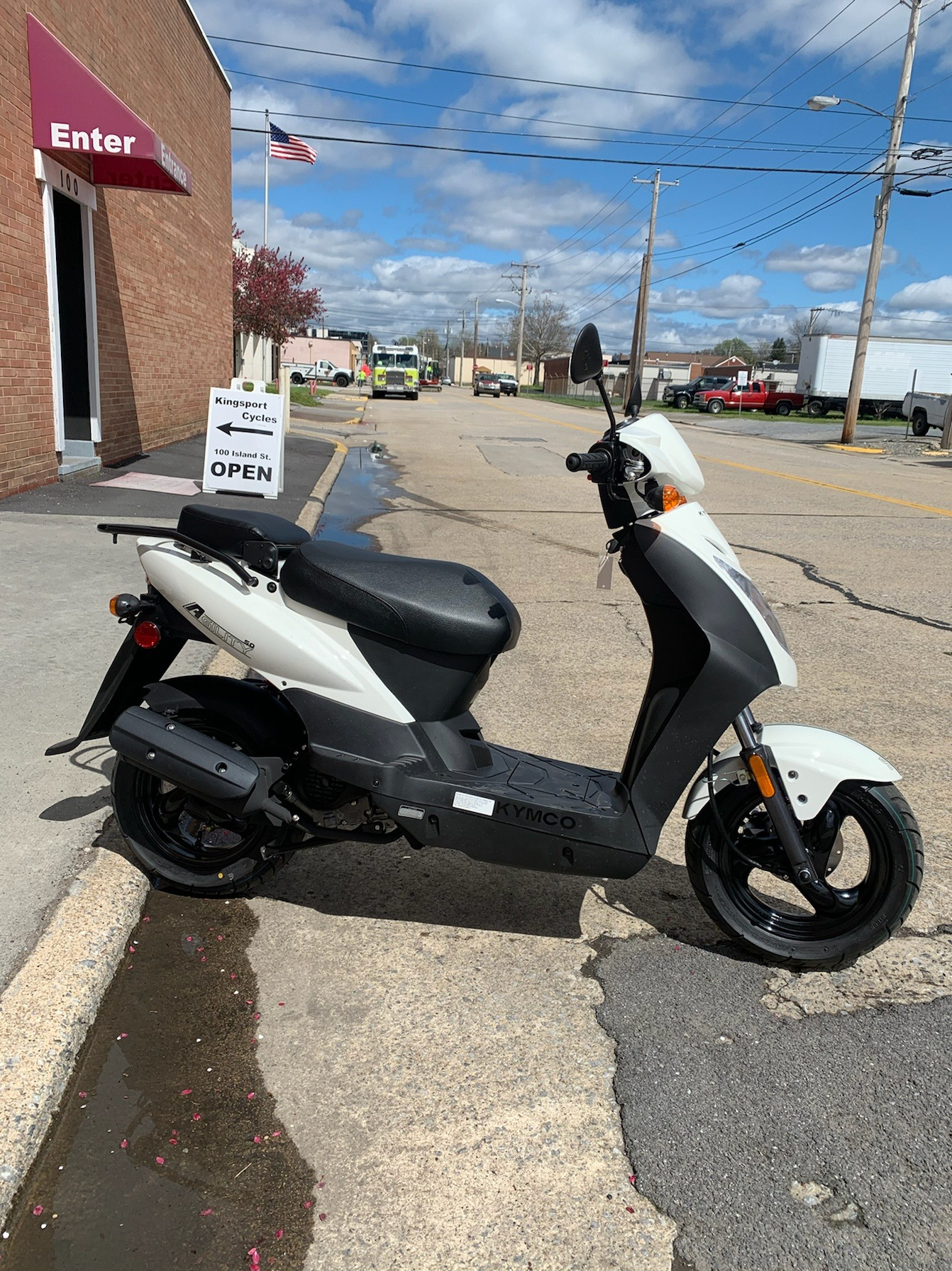 2020 Kymco AGILITY 50 in Kingsport, Tennessee - Photo 1