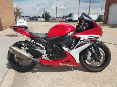 2013 Suzuki GSX-R600™ in Kingsport, Tennessee