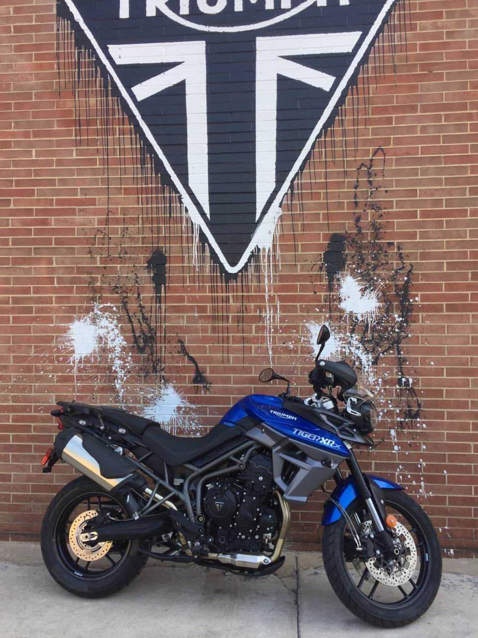 2016 Triumph Tiger 800 XRX in Kingsport, Tennessee