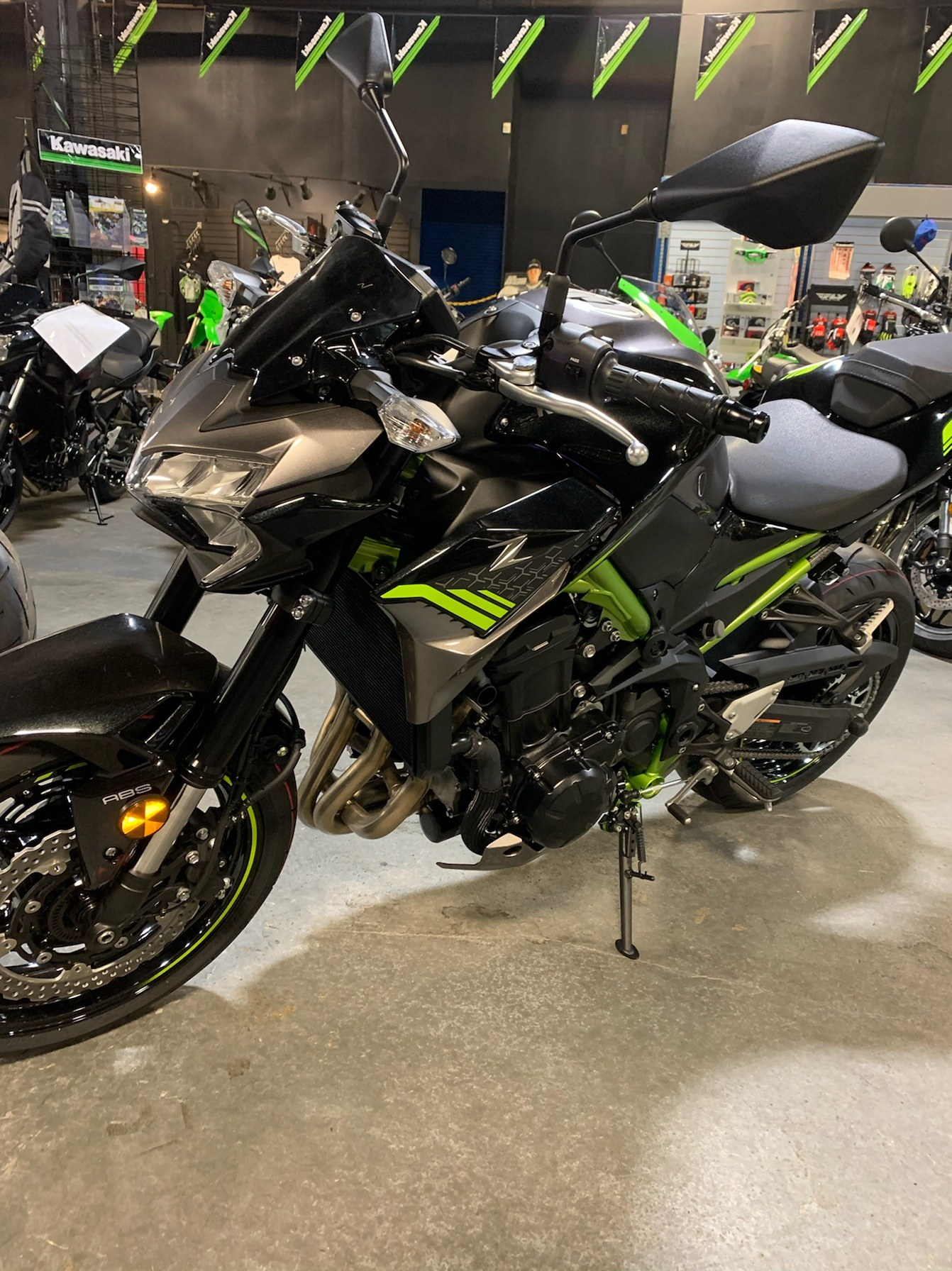 2020 Kawasaki Z-900 ABS in Kingsport, Tennessee - Photo 4