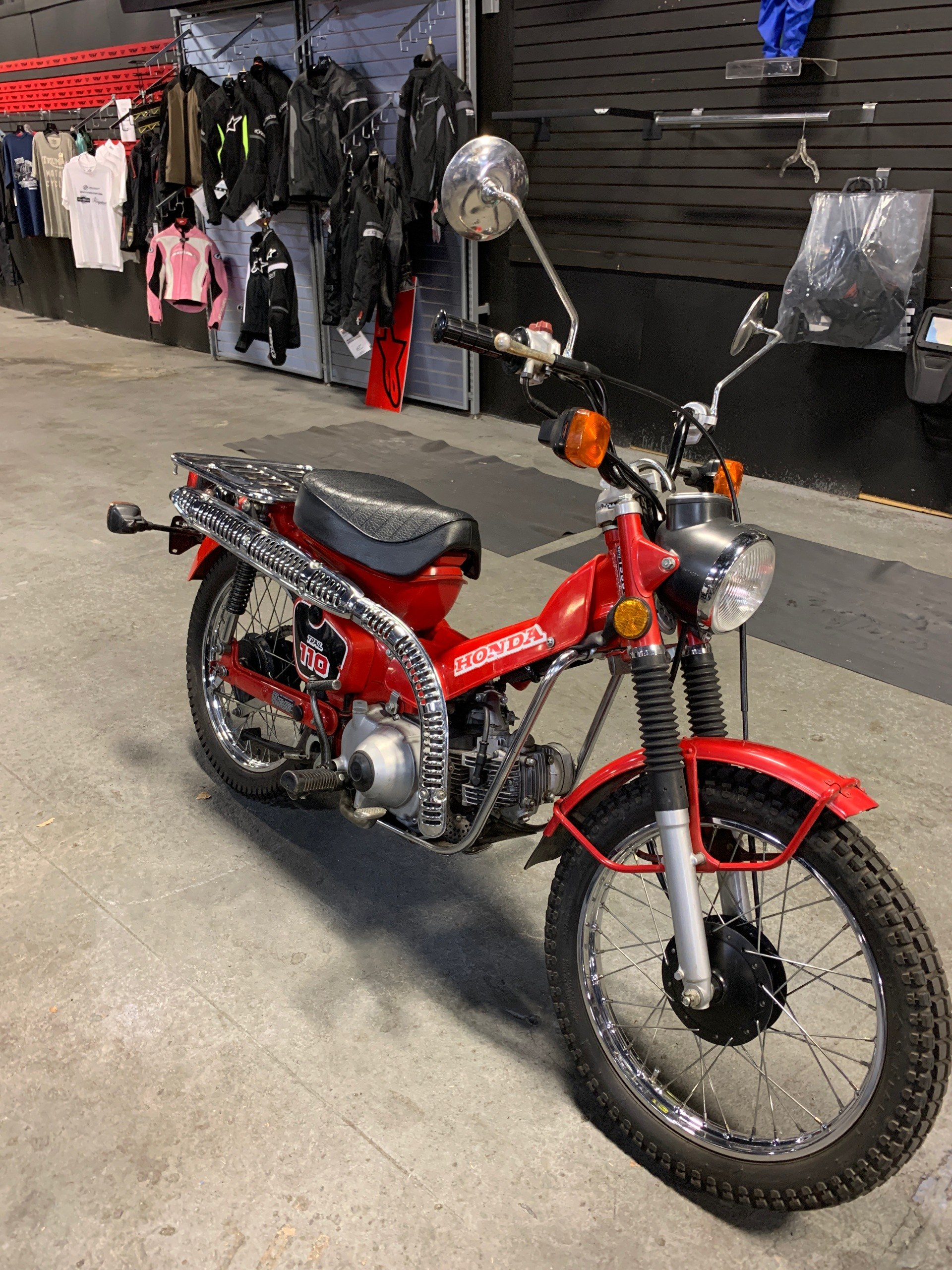 1986 Honda TRAIL 110 in Kingsport, Tennessee - Photo 2