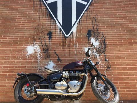 2017 Triumph Bonneville Bobber in Kingsport, Tennessee