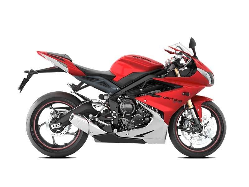 2016 Triumph Daytona 675 ABS in Kingsport, Tennessee