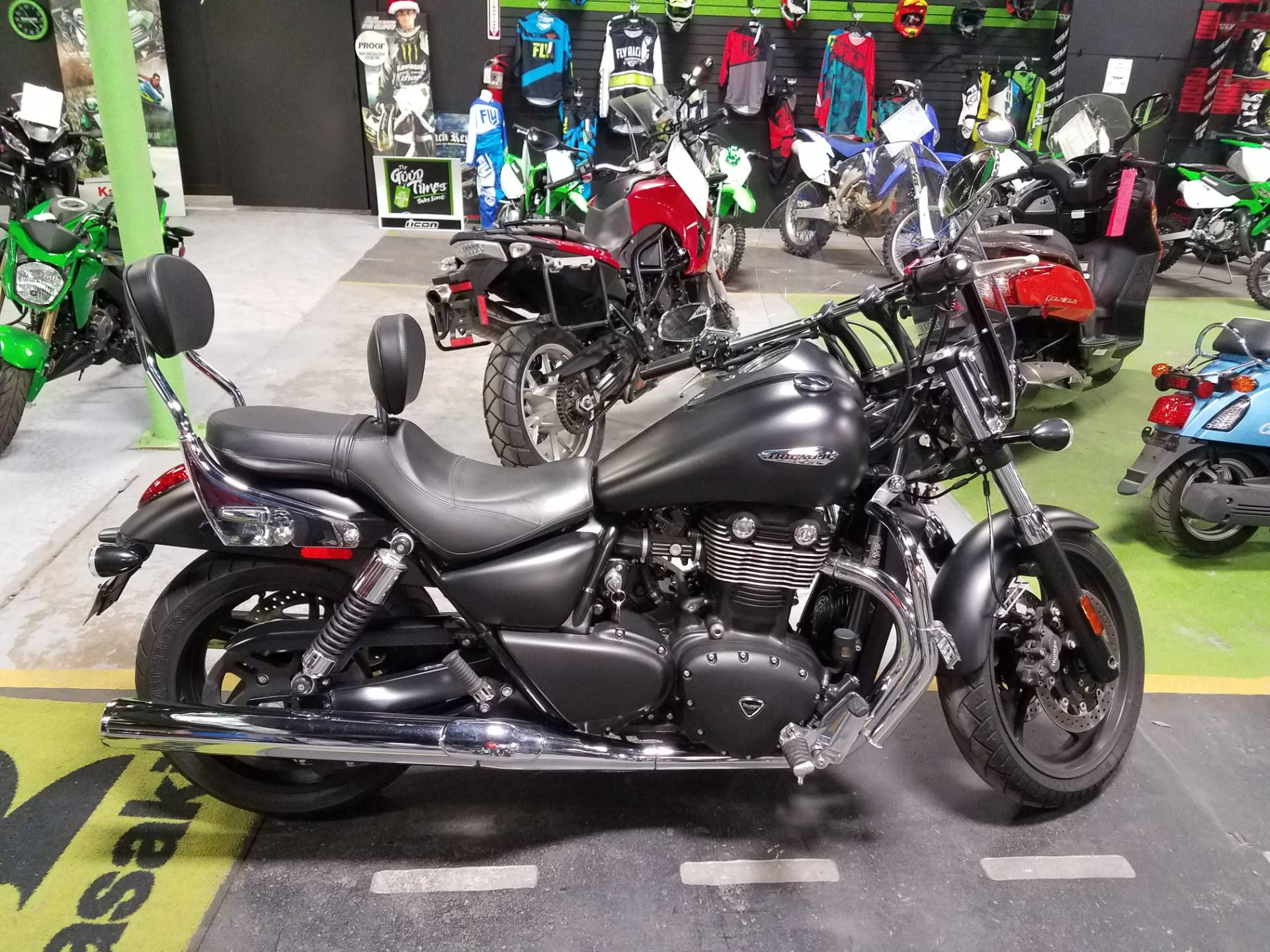 Used 2012 Triumph Thunderbird Storm ABS Motorcycles in Kingsport, TN