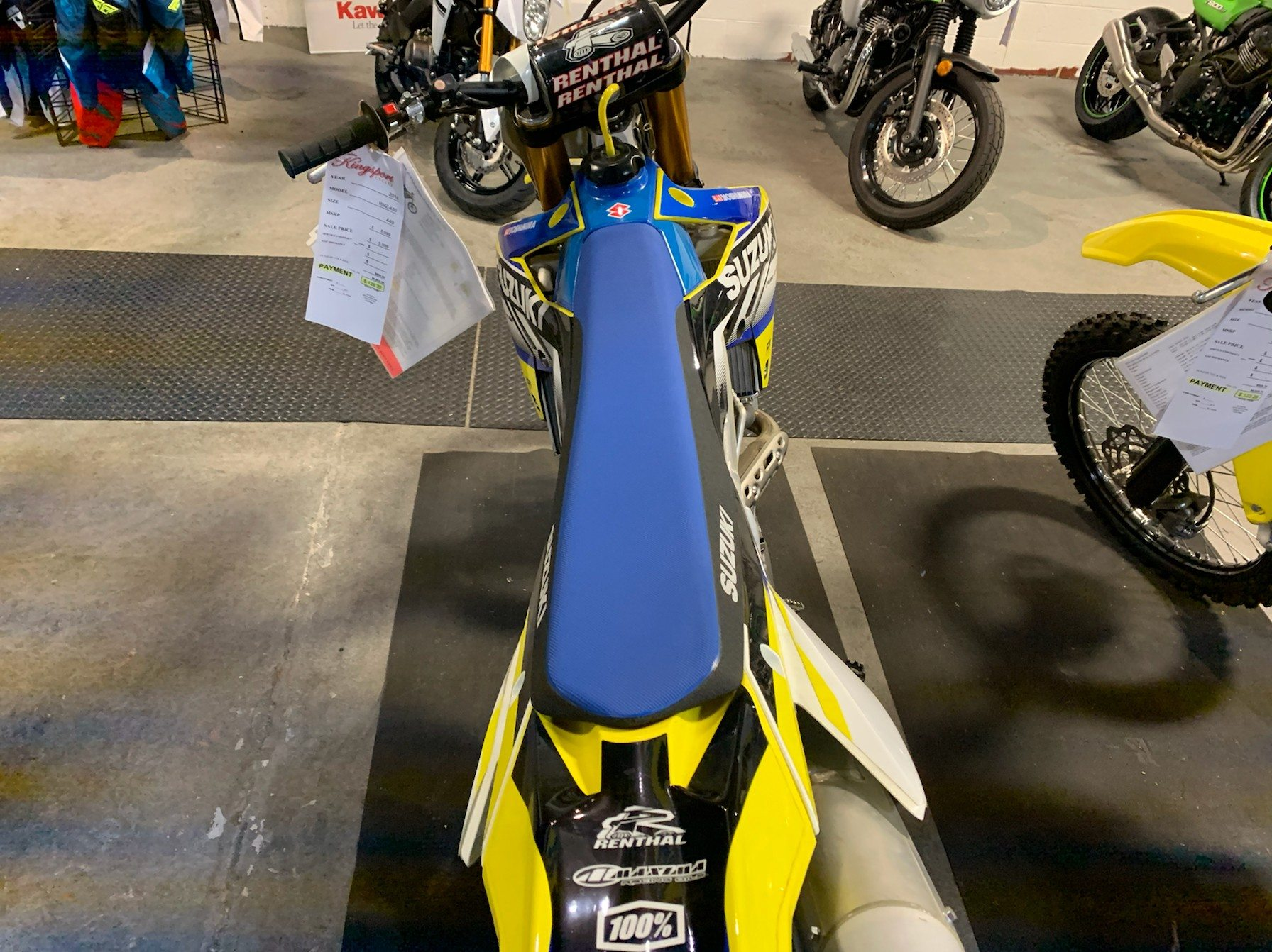 2018 Suzuki RM-Z450 in Kingsport, Tennessee - Photo 3