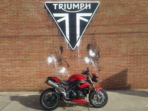 2016 Triumph Speed Triple S ABS in Kingsport, Tennessee