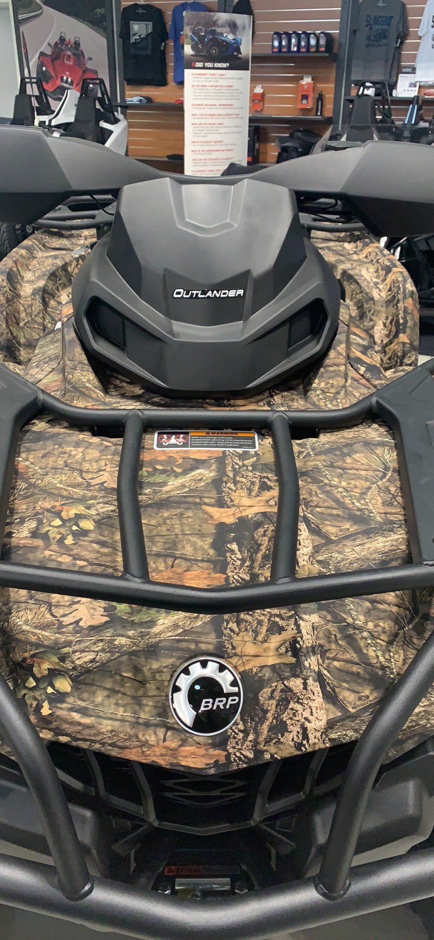2020 Can-Am Outlander Mossy Oak Edition 450 in Laredo, Texas - Photo 6