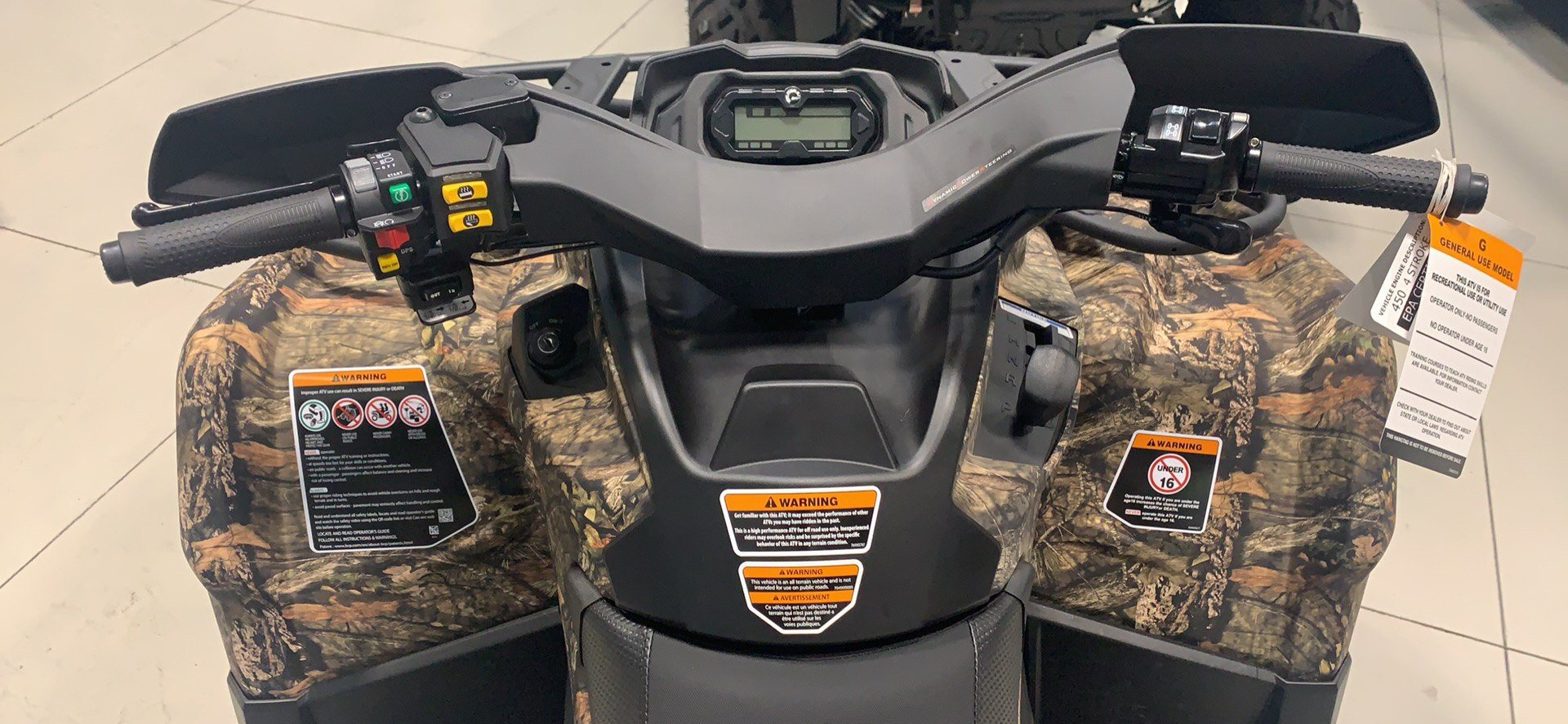 2020 Can-Am Outlander Mossy Oak Edition 450 in Laredo, Texas - Photo 9